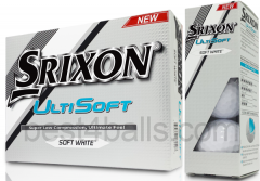 Logo printed Srixon Ultisoft golf balls | Best4Balls