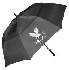 Personalised Graphite Golf Umbrella - Best4Balls