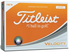 New 2016 Titleist Velocity Golf Balls Personalised  | Best4Balls