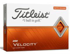 New 2018 Titleist Velocity Orange Golf Balls | Best4Balls