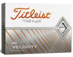 New Titleist Velocity Golf Balls Personalised  | Best4Balls