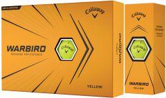 Callaway Warbird Yellow Logo Golf Balls | Best4Balls
