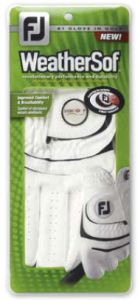 Footjoy WeatherSof Logo Golf Glove - Minimum 48