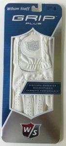 Wilson Ladies Grip Plus Golf Glove in classic White   Best4Balls