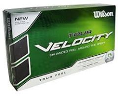 A Personalised Box of Wilson Tour Velocity Feel Golf Balls | Best4Balls