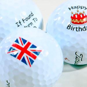 personalised balls