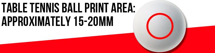Table Tennis Print Area